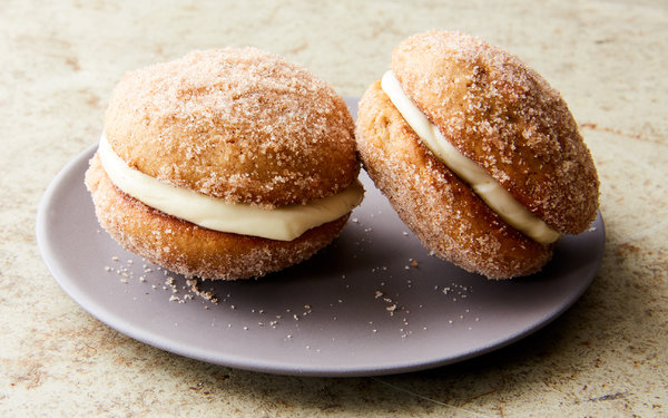 Apple Cider Whoopie Pies Recipe – NYT Cooking